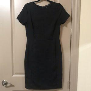 Black Banana Republic Short Sleeve Dress - Size 10